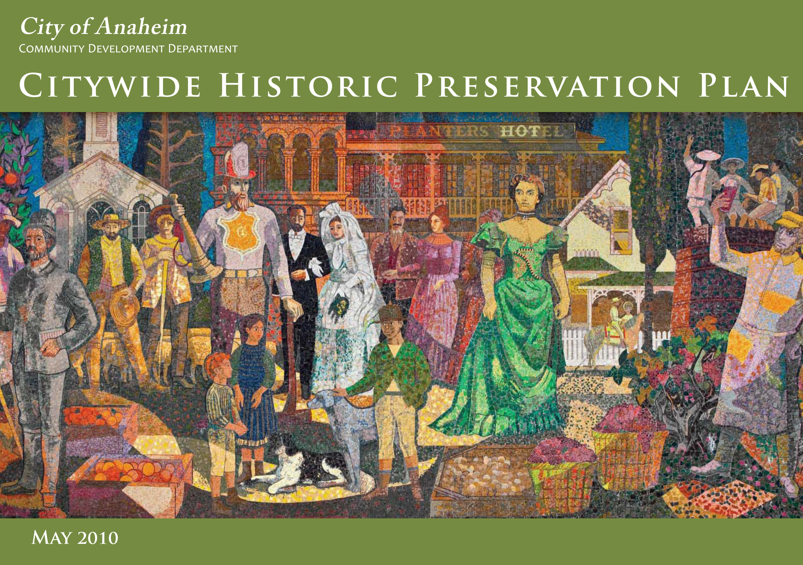 Citywide Historic Preservation Plan Cover