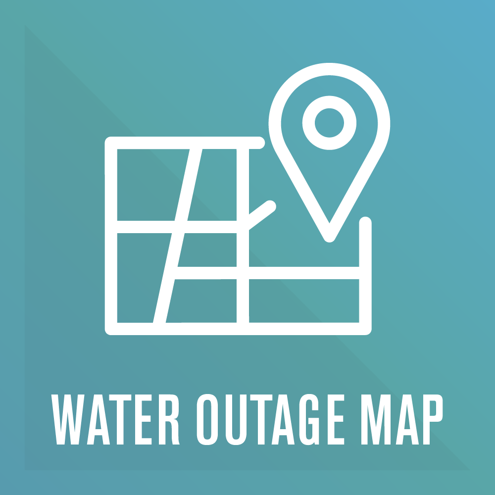 water outage map